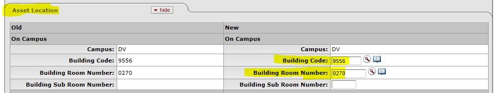 casm building and room lookup