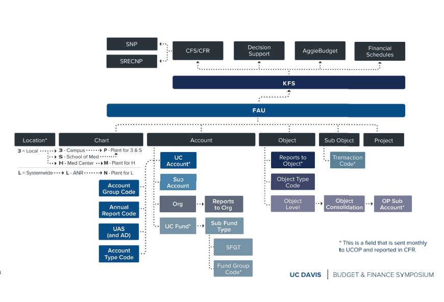 UC Davis Chart of Account and Financial Reporting Structure""