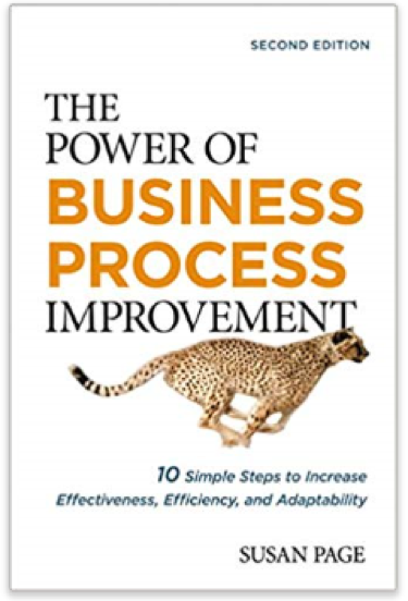 cover for the power of business process improvement book