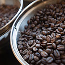 """closeup of coffee beans"""