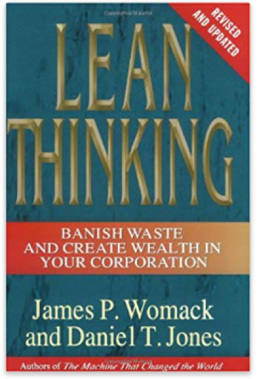 cover for lean thinking book