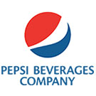 """logo for pepsi beverage company"""